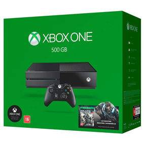 Xbox One 500gb Gears Of War 4 Praticamente Novo
