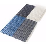 50 Pisos Plastico Estrado Plat 50x25xcm Multi Canil Preto