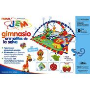 Gimnasio De Tela Animalitos De La Selva C/ Accesorios Jem