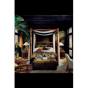 Cama Modelo Cape Lodge Collection African Safari Colonial