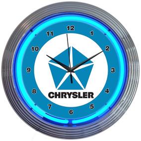 Neonetics Chrysler Pentastar Neon Wall Clock, 15-inch