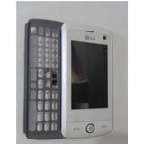 Gabinete Lcd Display Flex E Slide Gw520 Lg Original Pto Bco