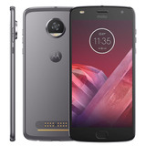 Smartphone Moto Z² Play Platinum - 4g,12mp + Frontal Flash