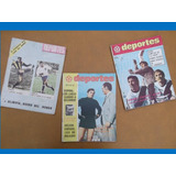 Revistas Deportes 1970-fútbol,peñarol, Nacional, Bella Vista