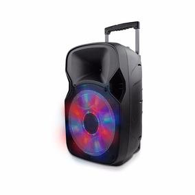 Caixa De Som Recarregável 150w Rms Bluetooth Microfone Sp219