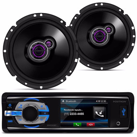 Dvd Player Usb Sd + Par De Falantes 100w Rms