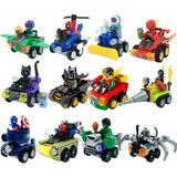 Super Coleccion Vehiculos Mighty Mini Q Compatible Con Lego