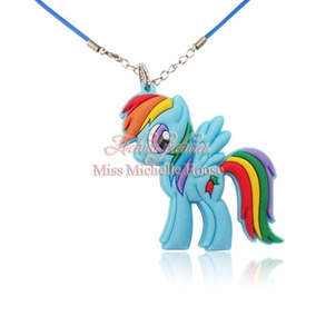 Collar Y Dije My Little Pony Rainbow Dash