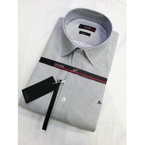991726b1f2 Kit 3 Camisas Sociais Aramis Slim Fit Texturizado Lanç.
