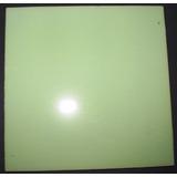 10 Azulejos Antiguos Verde Claro 15x15 Cms. Sin Uso