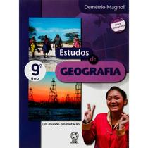 Livro - Estudos Da Geografia - 9° Ano/ 8ª Série Ed: