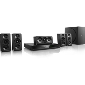 Home Theater Philips Htd5520x/ 5.1 Canais 1000w Rms Com Dvd