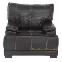 Sillon Color Chocolate En Vinipiel En Monterrey