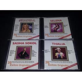 Shakira / Thalía / Sasha / Selena Cd Nuevo Personalidades