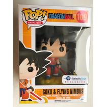 Funko Pop Goku Flying Nimbus Traje Naranja Dragon Ball Negro