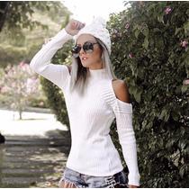 Roupas Femininas Trico Trico Blusa Blusinha Lã Inverno Blogu