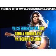 Dvd Karaoke Paula Fernandes - Dvdoke Músicas Videoke