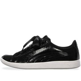 Tenis Puma Vikky Ribbon - 36641701 - Negro - Mujer