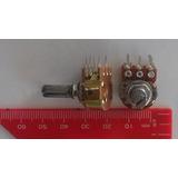Potenciômetro B10k 10k Com Chave, 5 Pinos