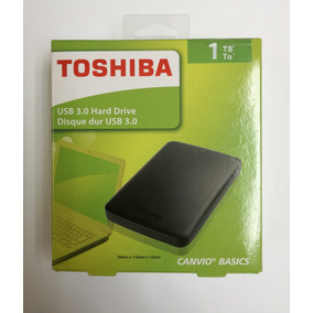 Disco Duro Externo 1tb Toshiba Usb 3.0 / 3.0 Original