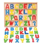 Alfabeto Móvil Abecedario Madera Juguet Didáctico Montessori