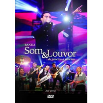 Banda Som & Louvor De Janeiro A Janeiro Dvd Original Novo
