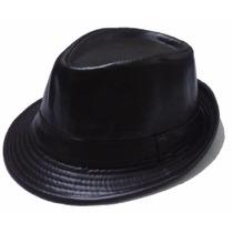 Sombrero Panameño, Borsalino Unisex. Semicuero. Gorras Y Mas