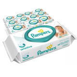 672 Toallitas Humedas Pampers Sensitive