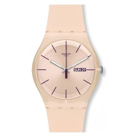 Swatch Unisex Suot700 Peach Rose Rebel Plástico Peach Rose