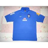 Camisa Polo Seleção Brasileira Concentração
