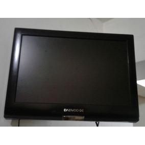 Tv Monitor Lcd Hdmi De 19 Marca Daewoo Con Base Incluida