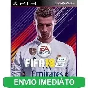 Fifa 18 Ps3 Psn Dublado Português Envio Rapido