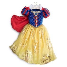 Vestido Disfraz Blanca Nieves 100% Original Disney Store!