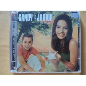 Sandy E Junior- Cd Quatro Estações/ Ao Vivo/ O Show- 2000
