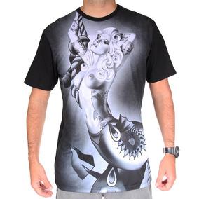 Camiseta Mcd Especial Body Tattoo Riot Preta Regular T Shirt ... a6cd39804a9