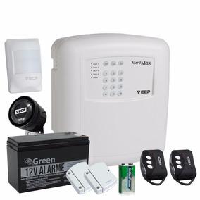 Kit Alarme Residencial Comercial S/fio Alard Max 4 Zonas Ecp