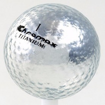 Pelotas De Golf Chromax Titanium 6 Piezas.