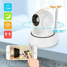 Cámara Ip Wifi Seguridad Nocturna Video Intercom 360º + Obs