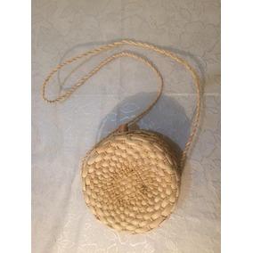 Bolsa De Palha Redonda - Circol Bag