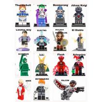 Bonecos Heroís Compatível Lego Marvel Dc Comics