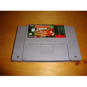 Donkey Kong Country Original Americana Para Super Nintendo