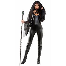 Disfraz Mujer Bruja Sexy Traje Halloween Dia Brujas Mod15