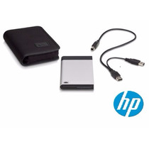 Case Hp Gaveta Hd Sata Externo 2.5 Usb Notebook Bolso + Capa