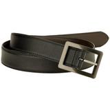 32mm George Hombres De Centerbar Cinturón Reversible