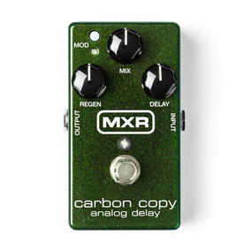 Pedal Mxr Carbon Copy Analog Delay Guitarra Baixo M169