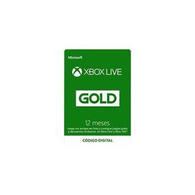 Membresía Xbox Live Gold 12 Meses - Código