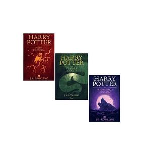 Coleção 3 Livros Harry Potter J.k. Rowling Rocco Edição 2015