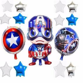 Globo Capitán América,avengers,globo Estrella,escudo