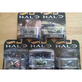 Hot Wheels Retro Entertainment Halo Set De 5