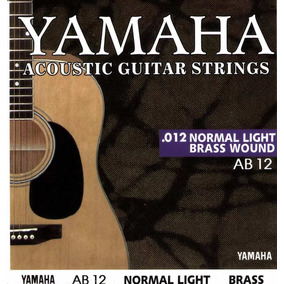 Cuerdas Para Guitarra Acustica Yamaha (0.12)